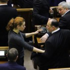 Lesya Orobets was beaten by deputy from Party of Regions