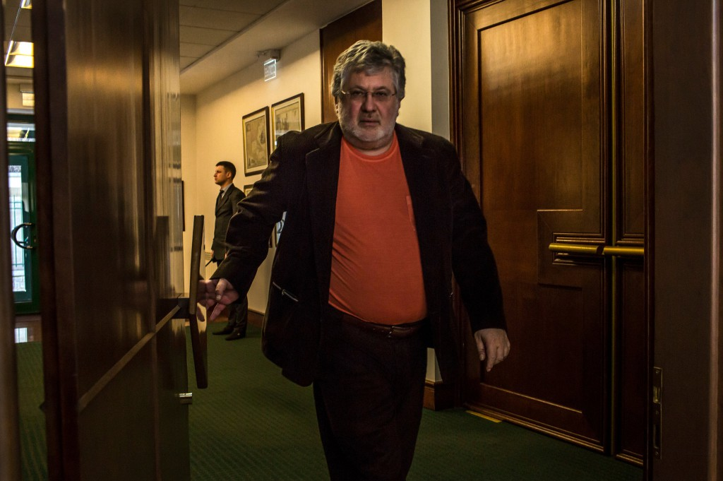 The new governor of Dnipropetrovsk, Ihor Kolomoysky, is one of Ukraine's wealthiest men. Credit Mauricio Lima for The New York Times